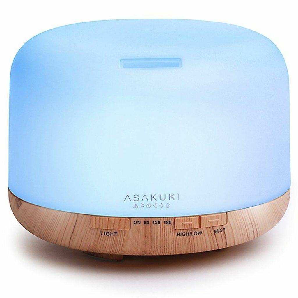 Asakuki 500ml Premium Essential Oil Diffuser Humidifier
