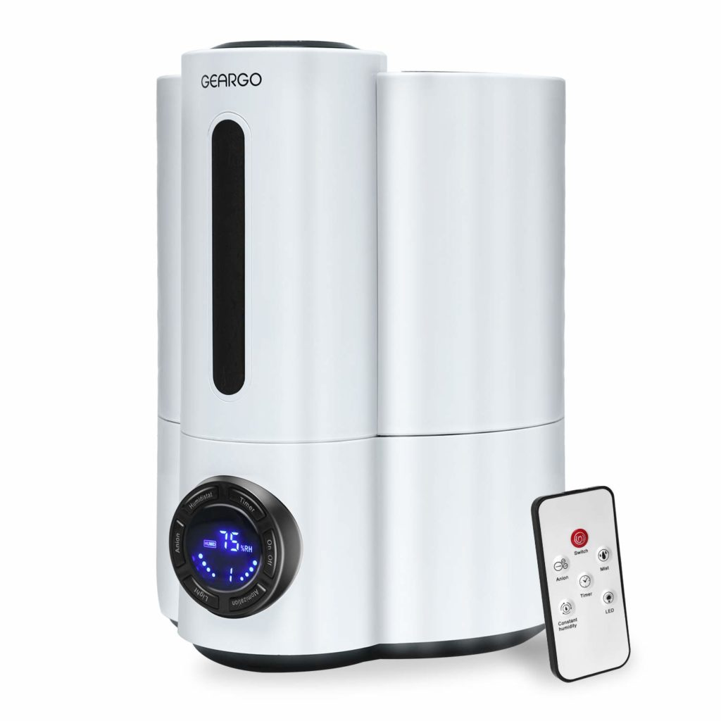 Geargo Ultrasonic Cool Mist Humidifier