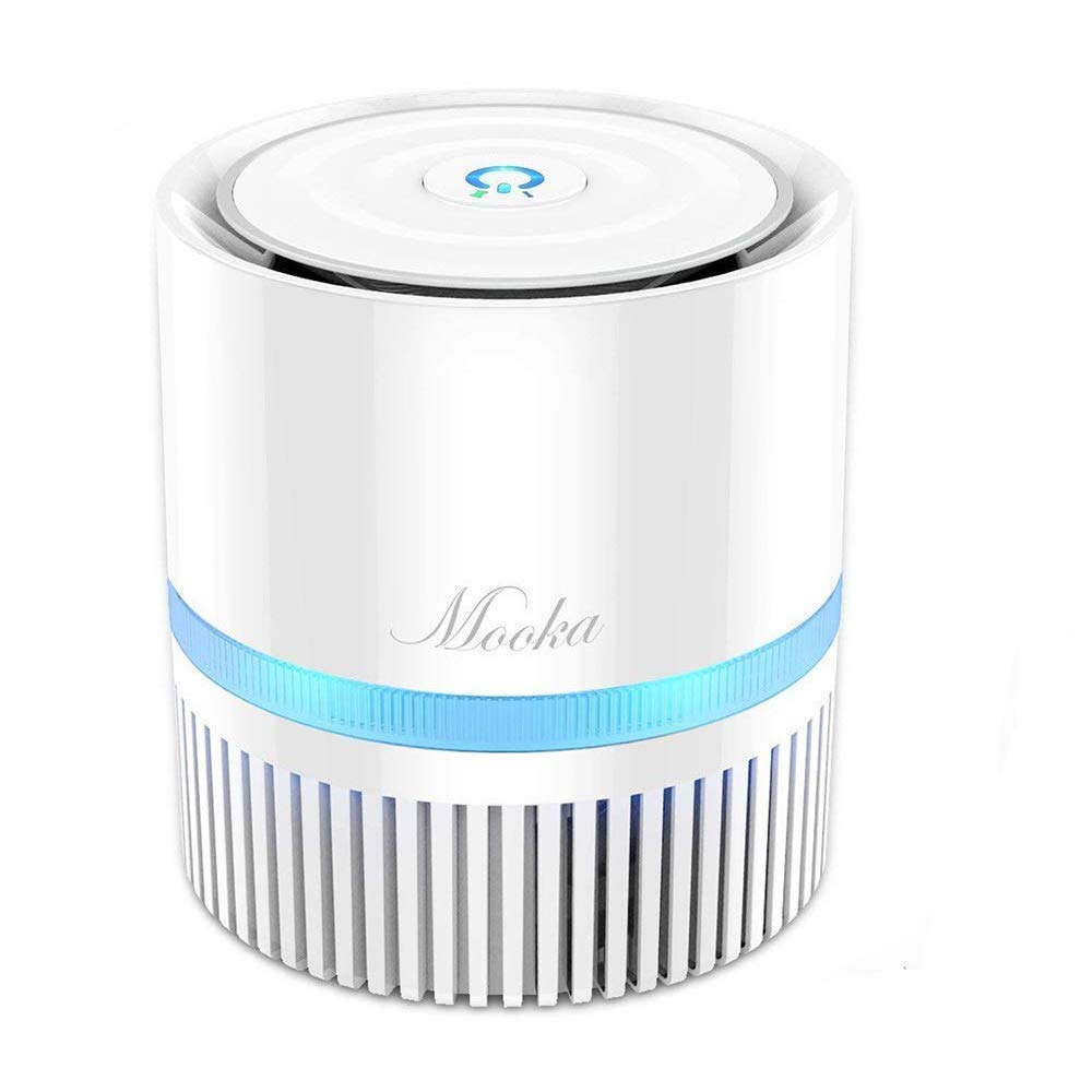 Mooka Air Purifier with True HEPA Filter